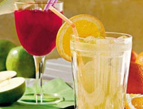 White Grape-and-Orange Cooler