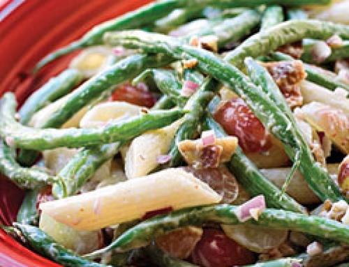 Green Bean, Grape and Pasta Toss