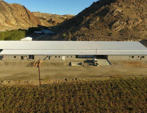 WELTEVREDE FARM IS BUILDING A NEW PACKHOUSE